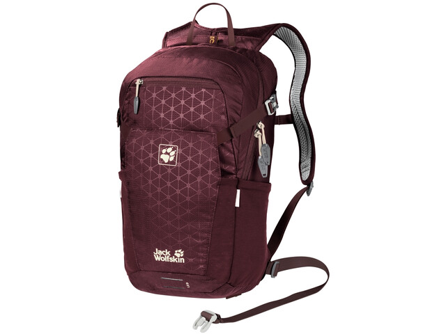 Jack Wolfskin Alleycat 18 Pack port wine grid